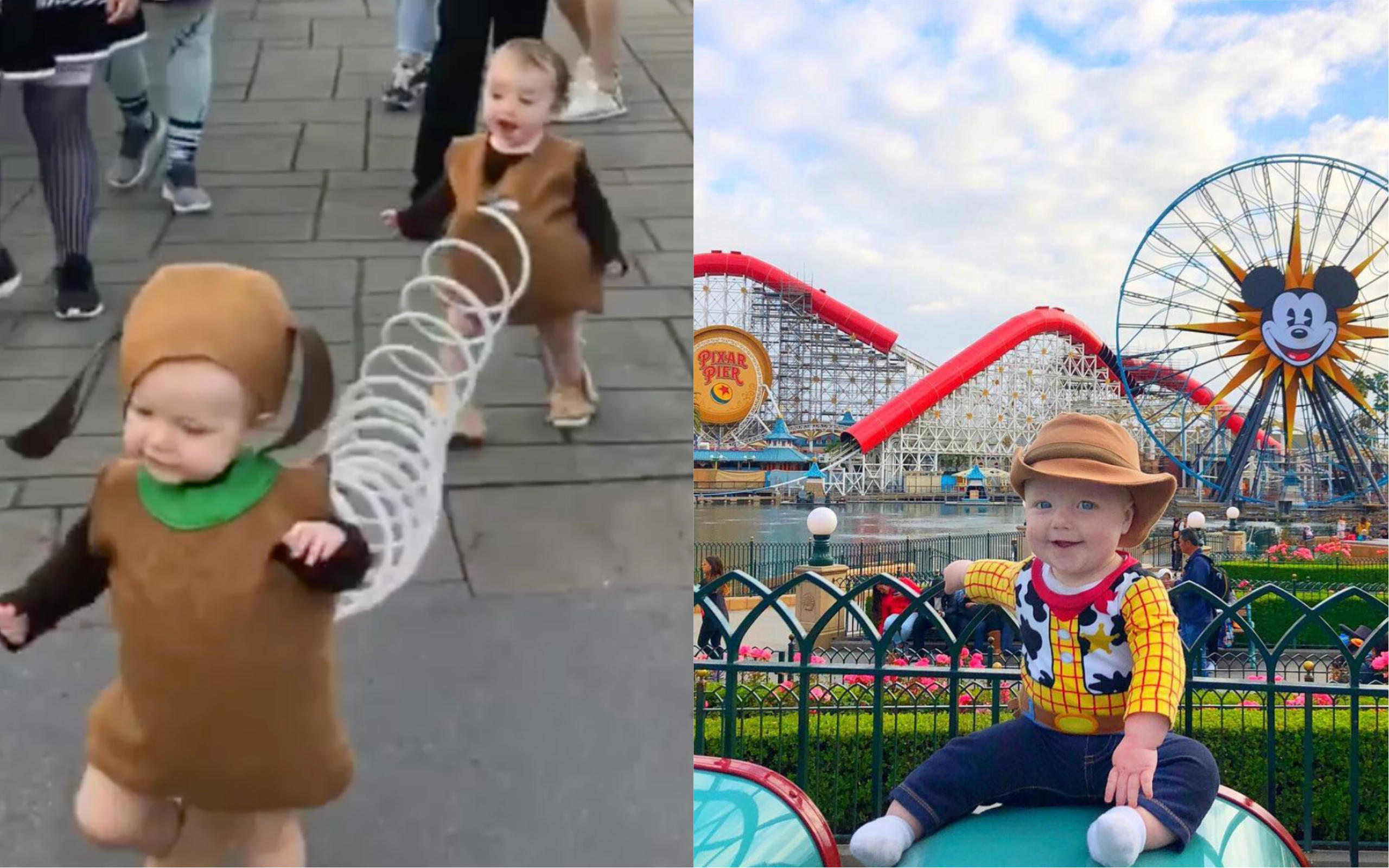 233461c4116 Toy Story Dad  Family creates viral Disney costumes for one-year-old ...
