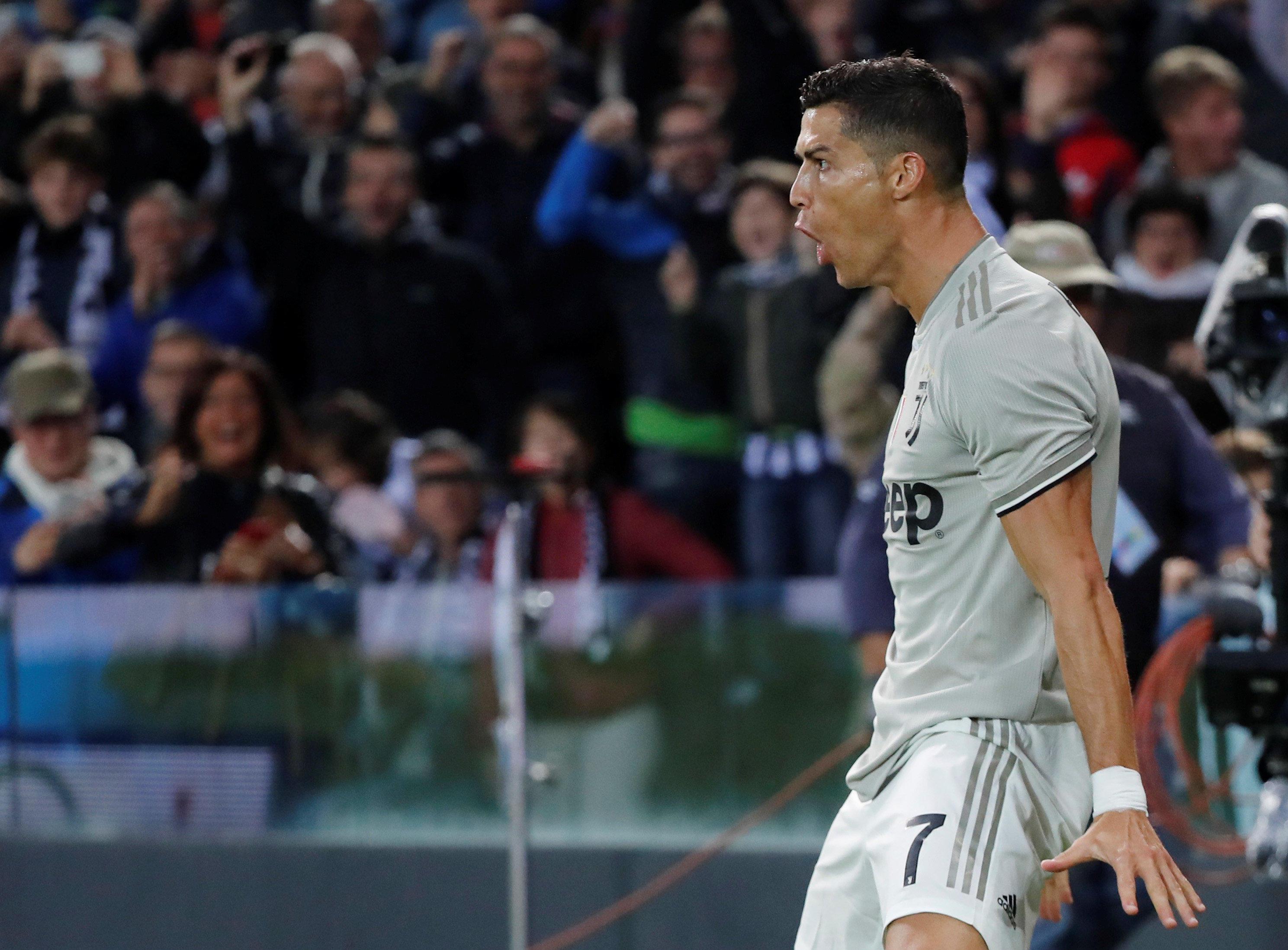 97d2a72fbce Cristiano Ronaldo scores for Juventus amid rape allegation - CBS News