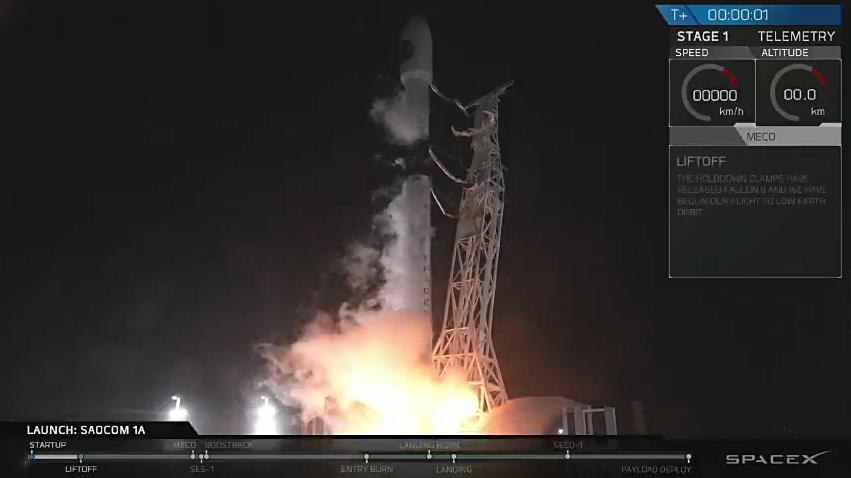 SpaceX stages California launch — and landing — in a new first