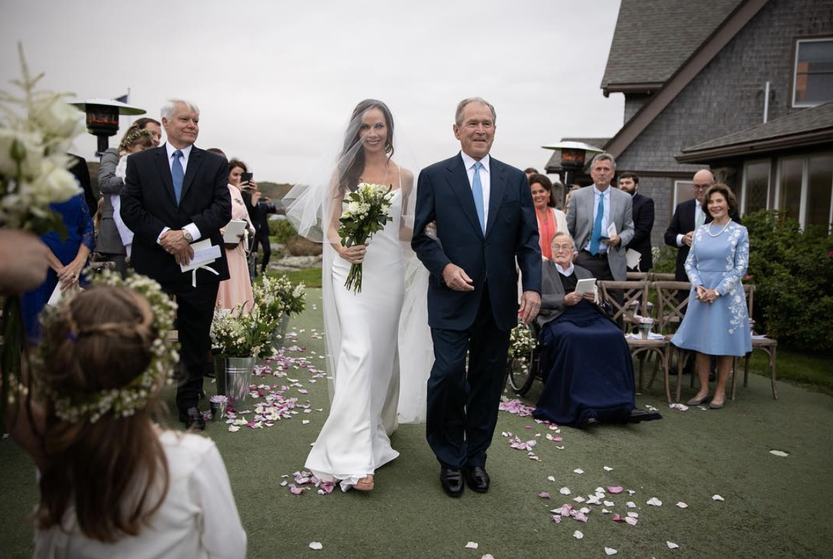 Former First Daughter Barbara Bush Gets Married In Very Secret