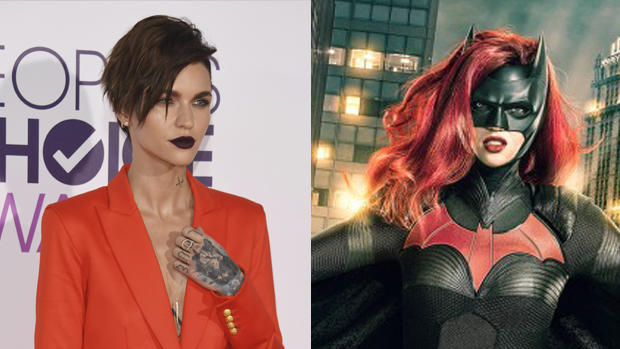 First Look Ruby Rose As Batwoman On Cws Dc Crossover Cbs News