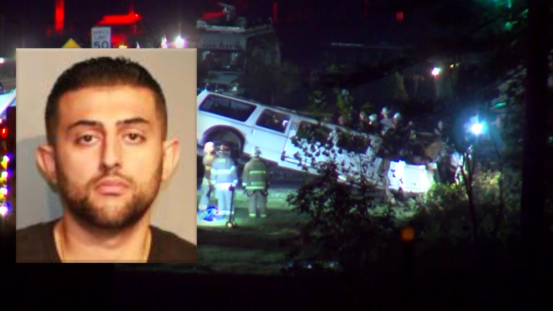limo driver charged with homicide