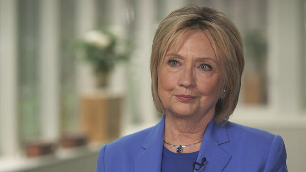 "Hillary Clinton on ""CBS Sunday Morning"": Bill should ""absolutely not"" have resigned over Lewinsky scandal"
