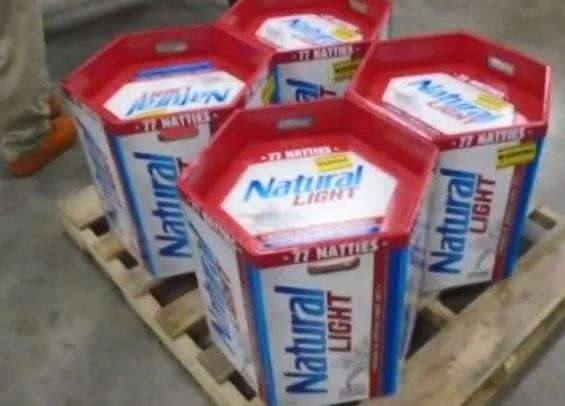 Keg Like 77 Pack Of Anheuser Busch Natural Light Beer