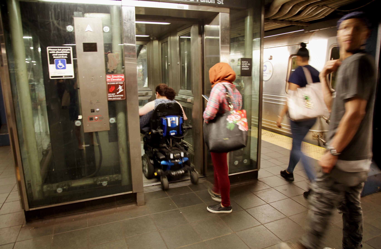 Mta Subway Map Elevators.The Nyc Subway S Accessibility Problem 60 Minutes Cbs News