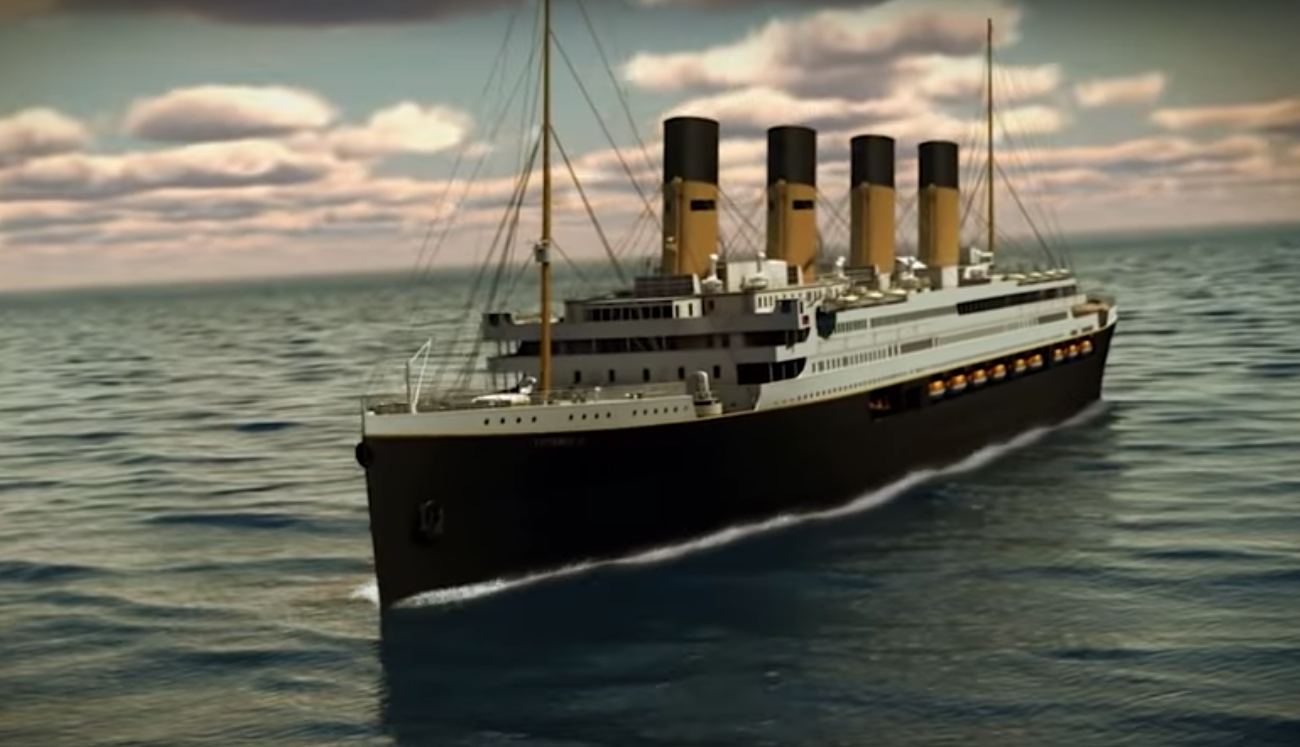Titanic Ii Could Set Sail By 2022 Following Original Route Cbs News