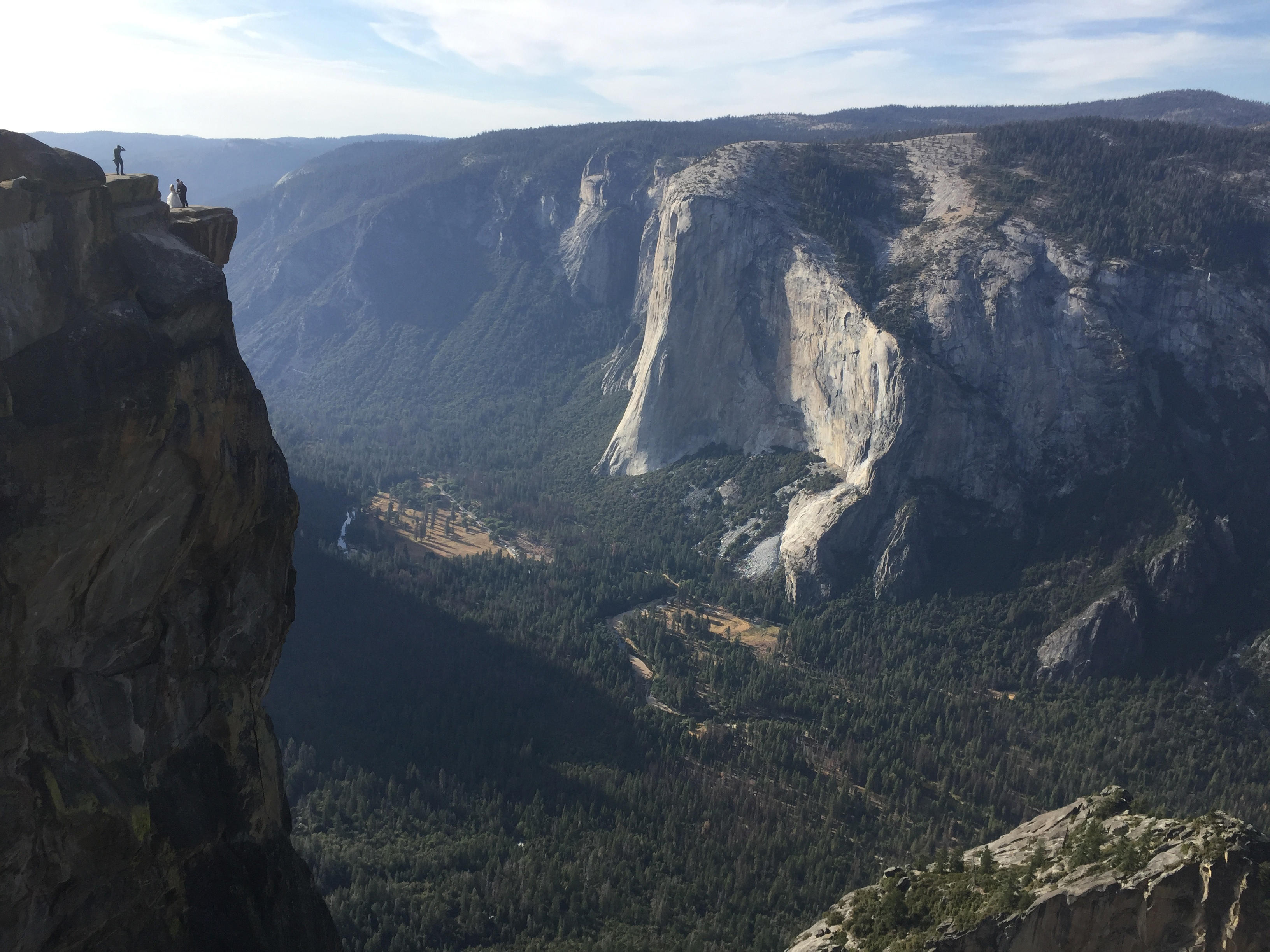 Two Dead In Apparent Plunge From Yosemite Cliff That Was