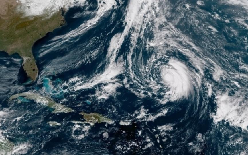 Hurricane Oscar strengthens over Atlantic Ocean today ...