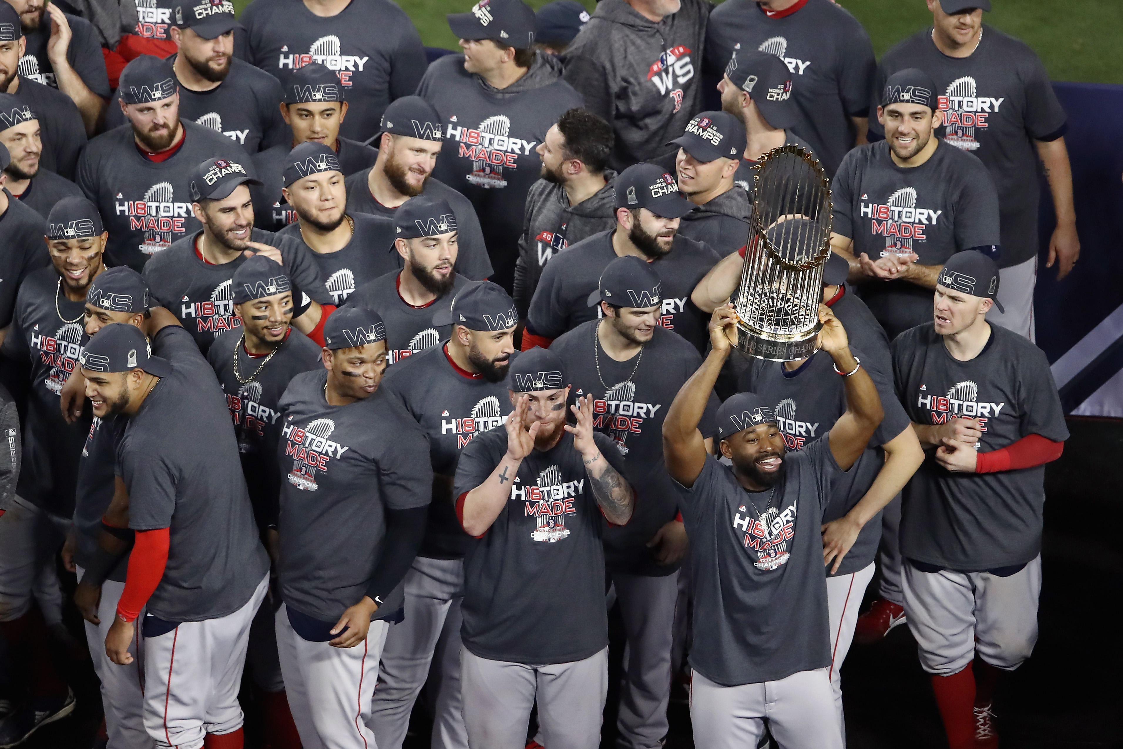 720ad09f258 Red Sox beat Dodgers 5-1 in Game 5 to win 4th World Series in 15 years