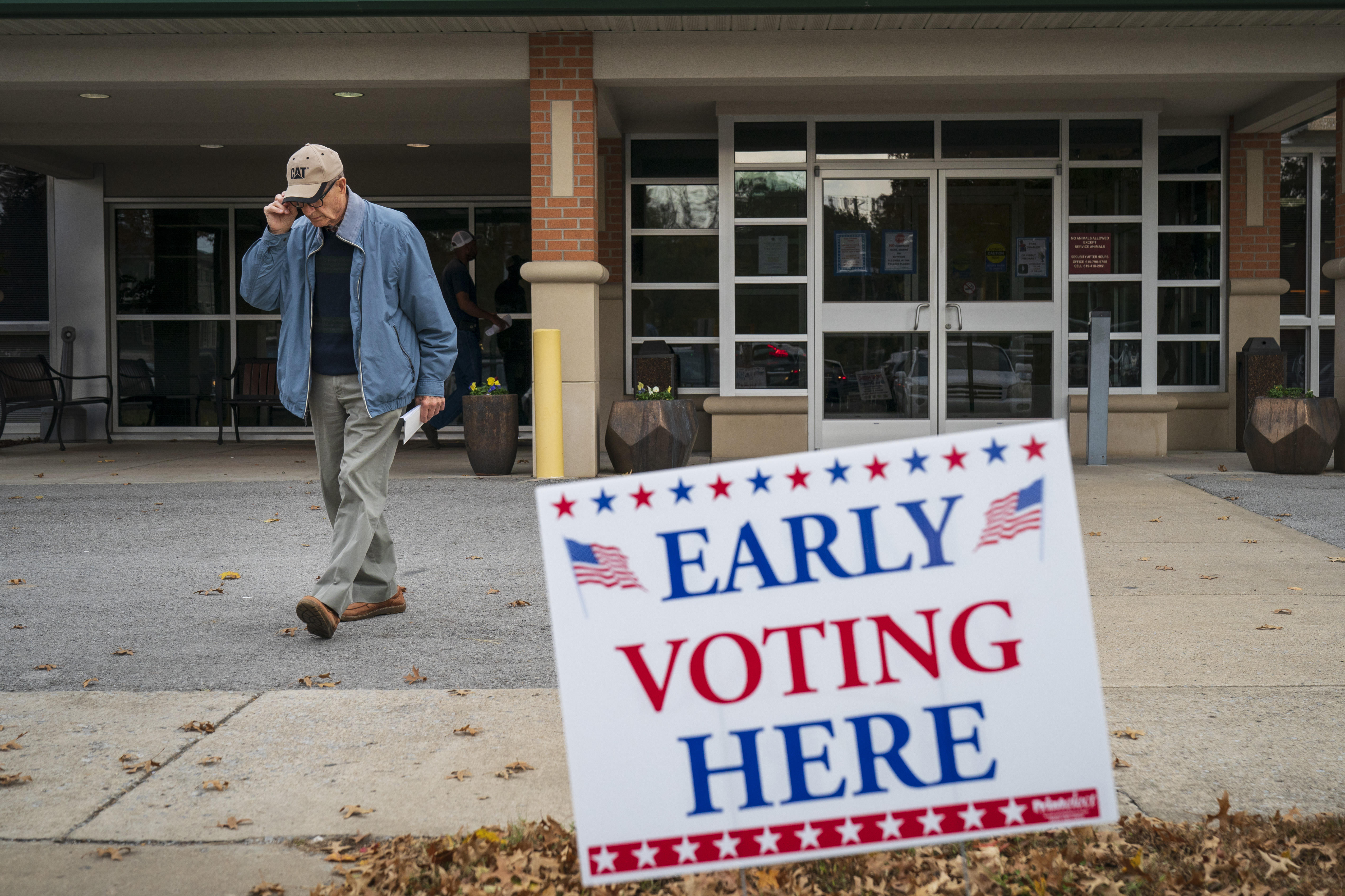 Early voter turnout in 27 states exceeds the 2014 total early vote ...