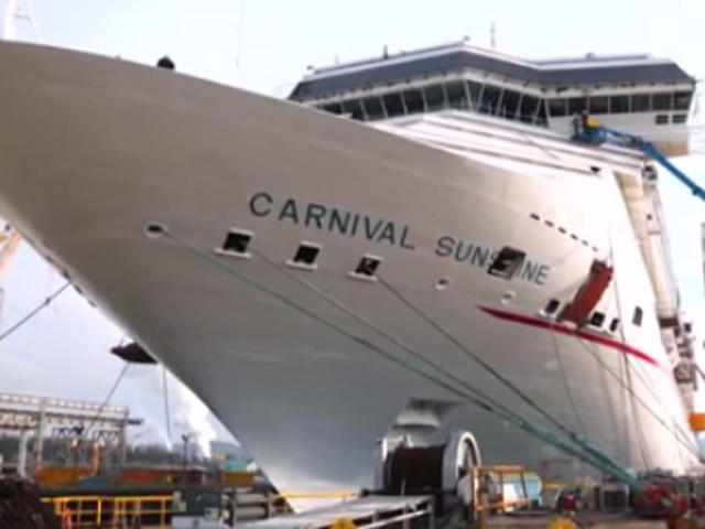 Carnival Breeze Route Map on