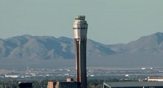 Air traffic controller heard slurring her words