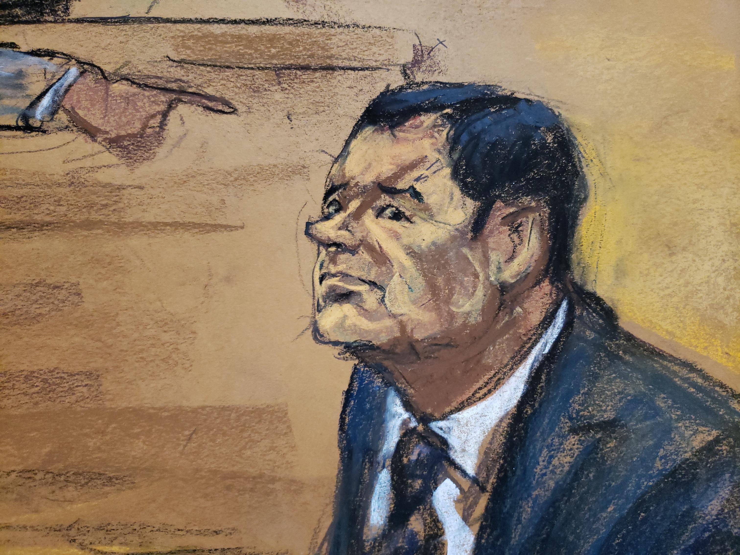 Act Scores Paint Troubling Picture For >> Joaquin El Chapo Guzman Trial Today In New York City Federal