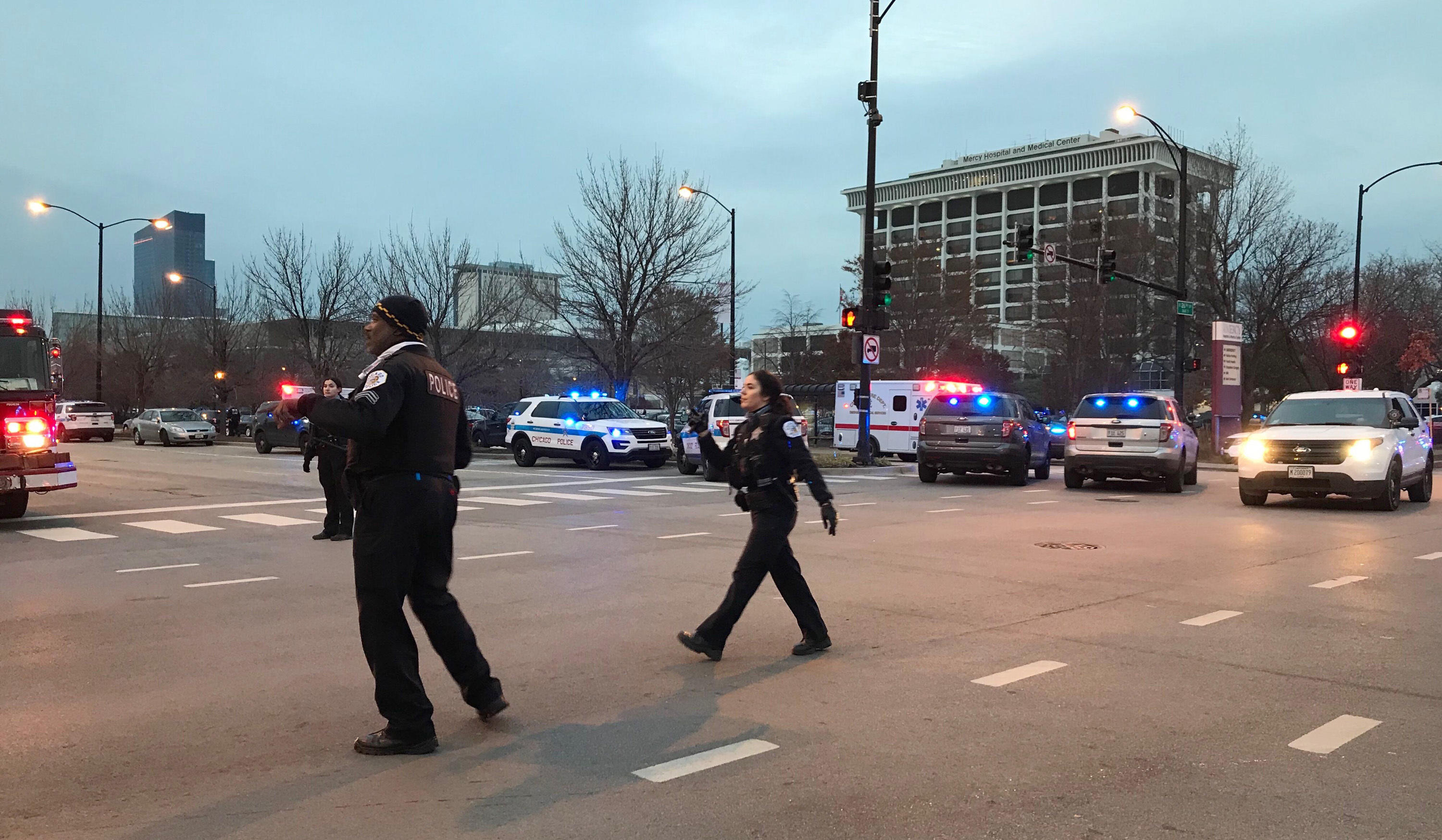 Reports of multiple victims after shooting near Chicago hospital