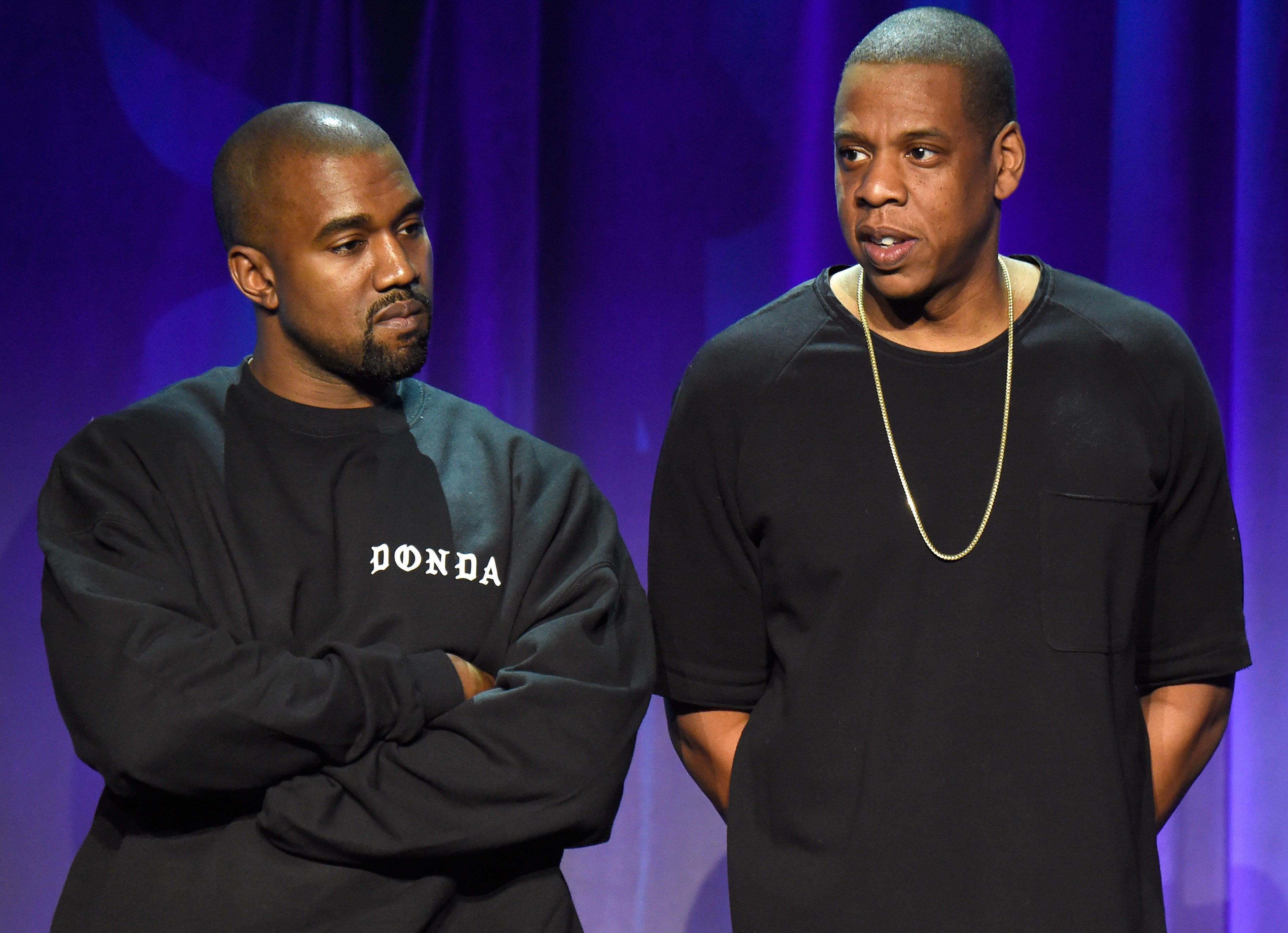 Jay Z Breaks Twitter Silence To Clarify Kanye West Lyric Cbs News