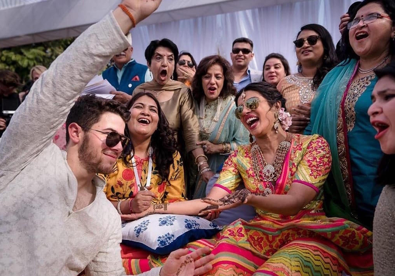 Image result for nick jonas priyanka chopra wedding