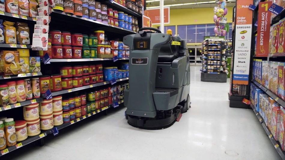 robot mop walmart hiring robots to scrub floors at some stores