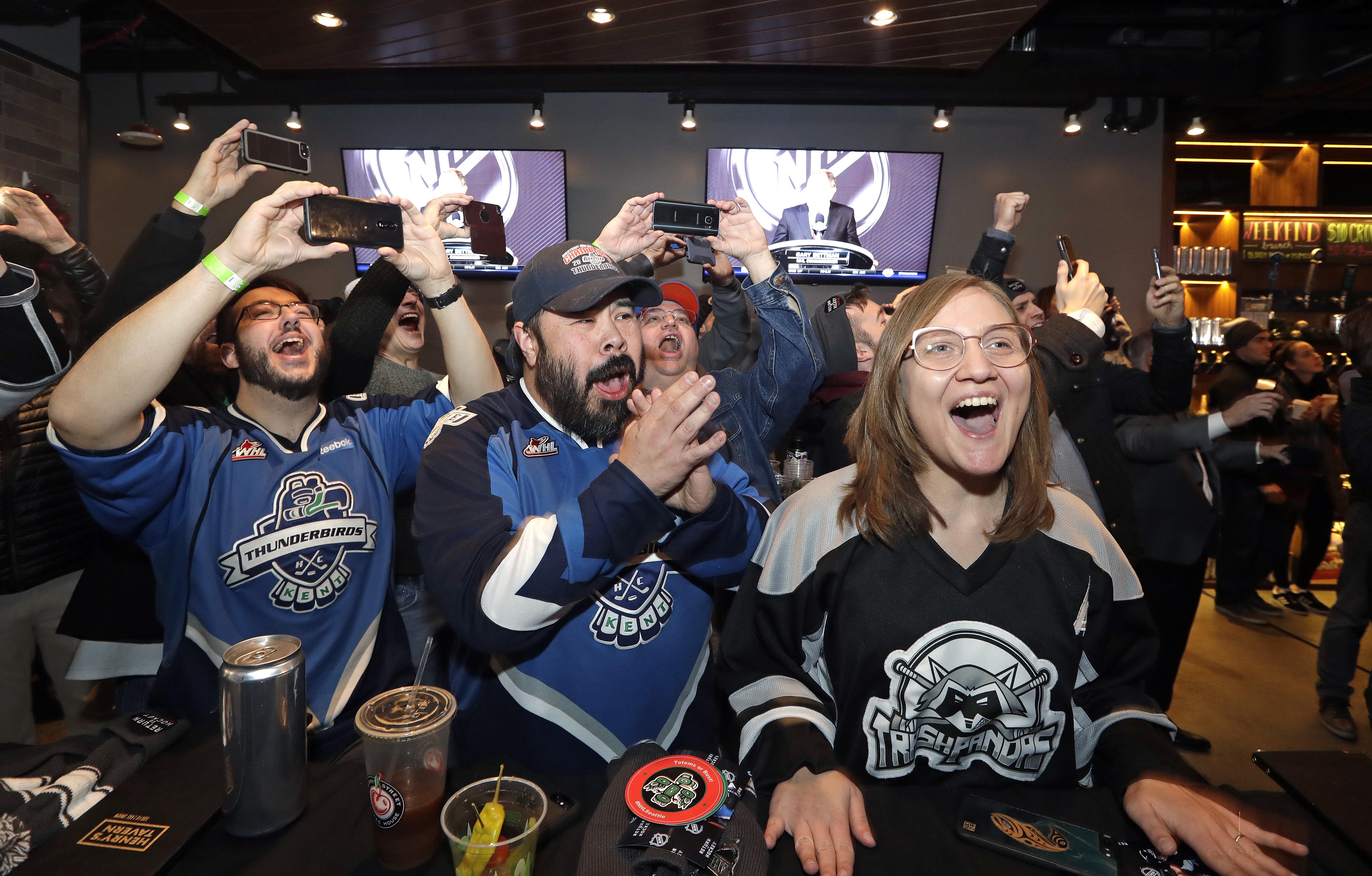 Seattle Gets Nhl Expansion Team Cbs News