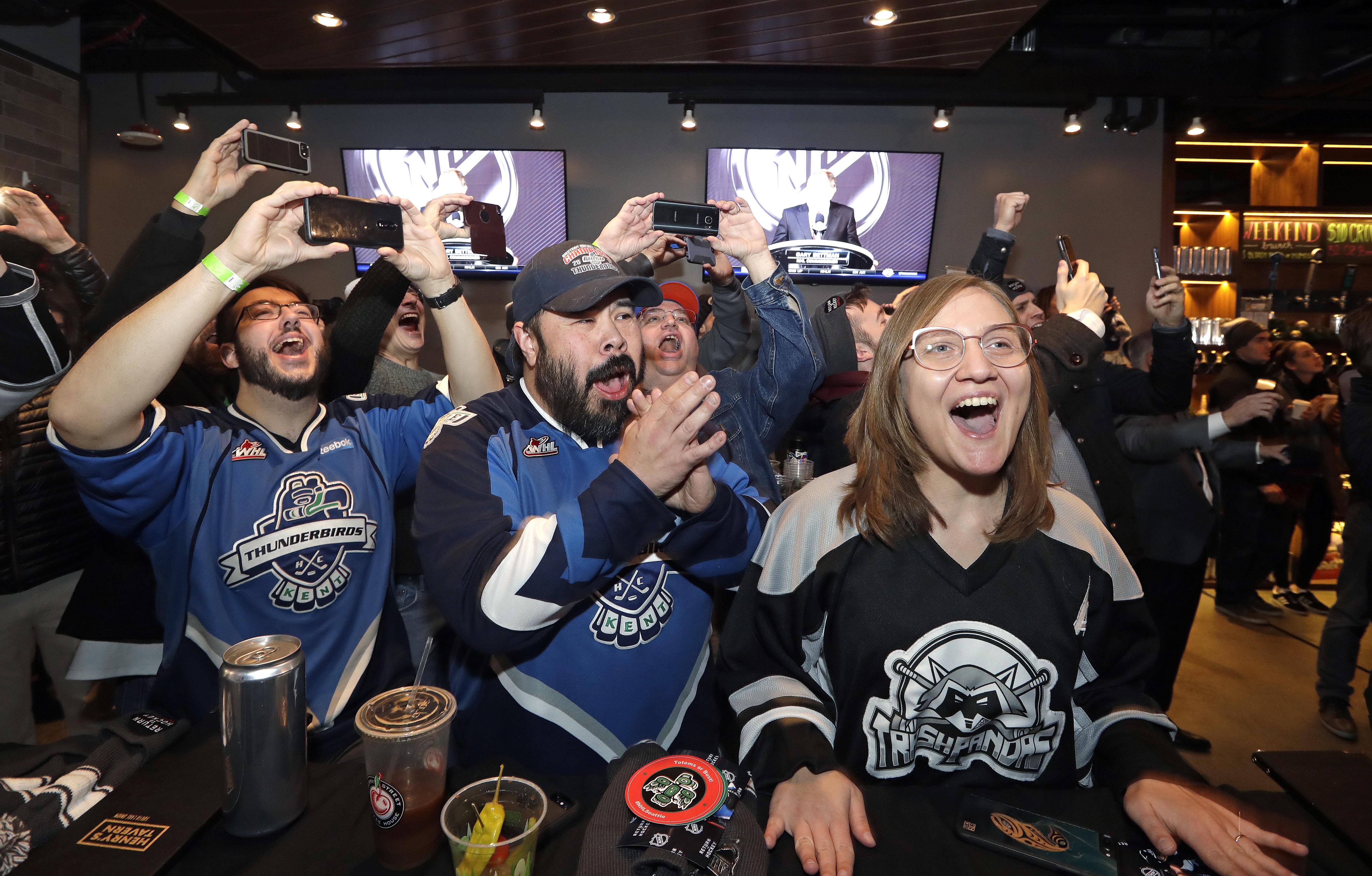 Seattle gets NHL expansion team - CBS News 196e736b8