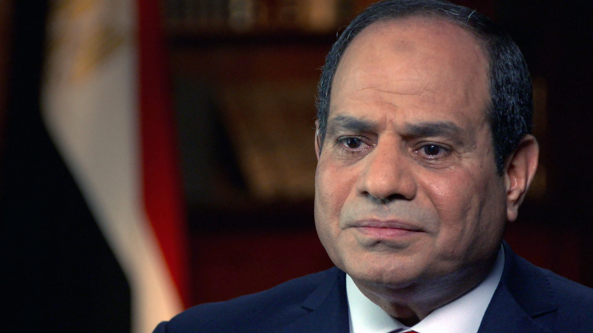 egypt s president el sisi denies ordering massacre in interview his government later tried to block