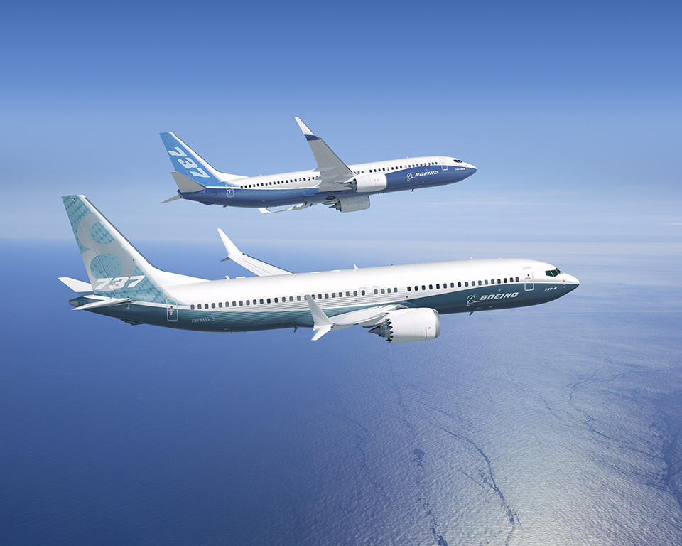 Boeing stock today: Boeing shares fall a737 Max production