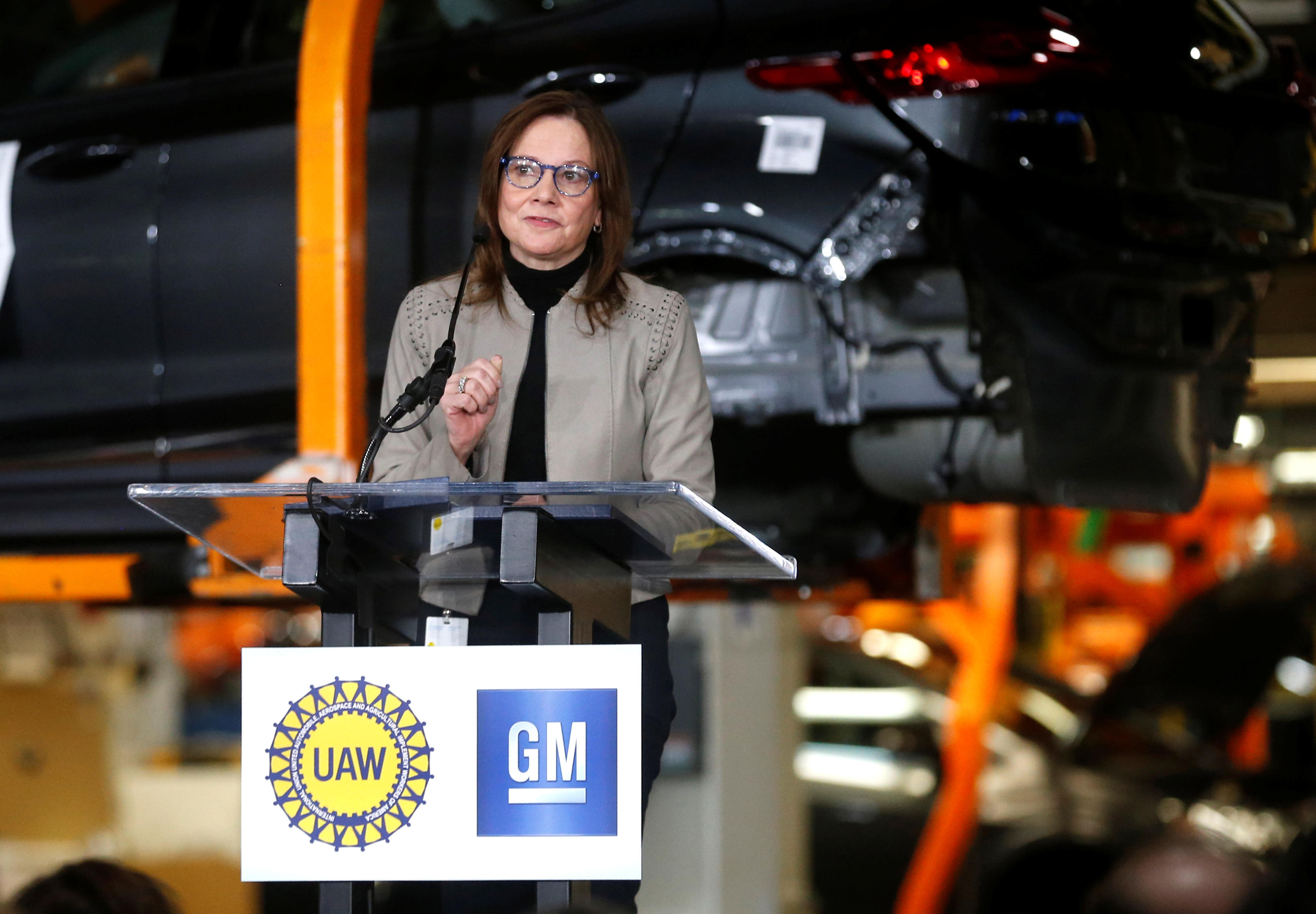 ab4be3a0f5dd GM says it will invest $300 million in its Orion plant after Trump criticism