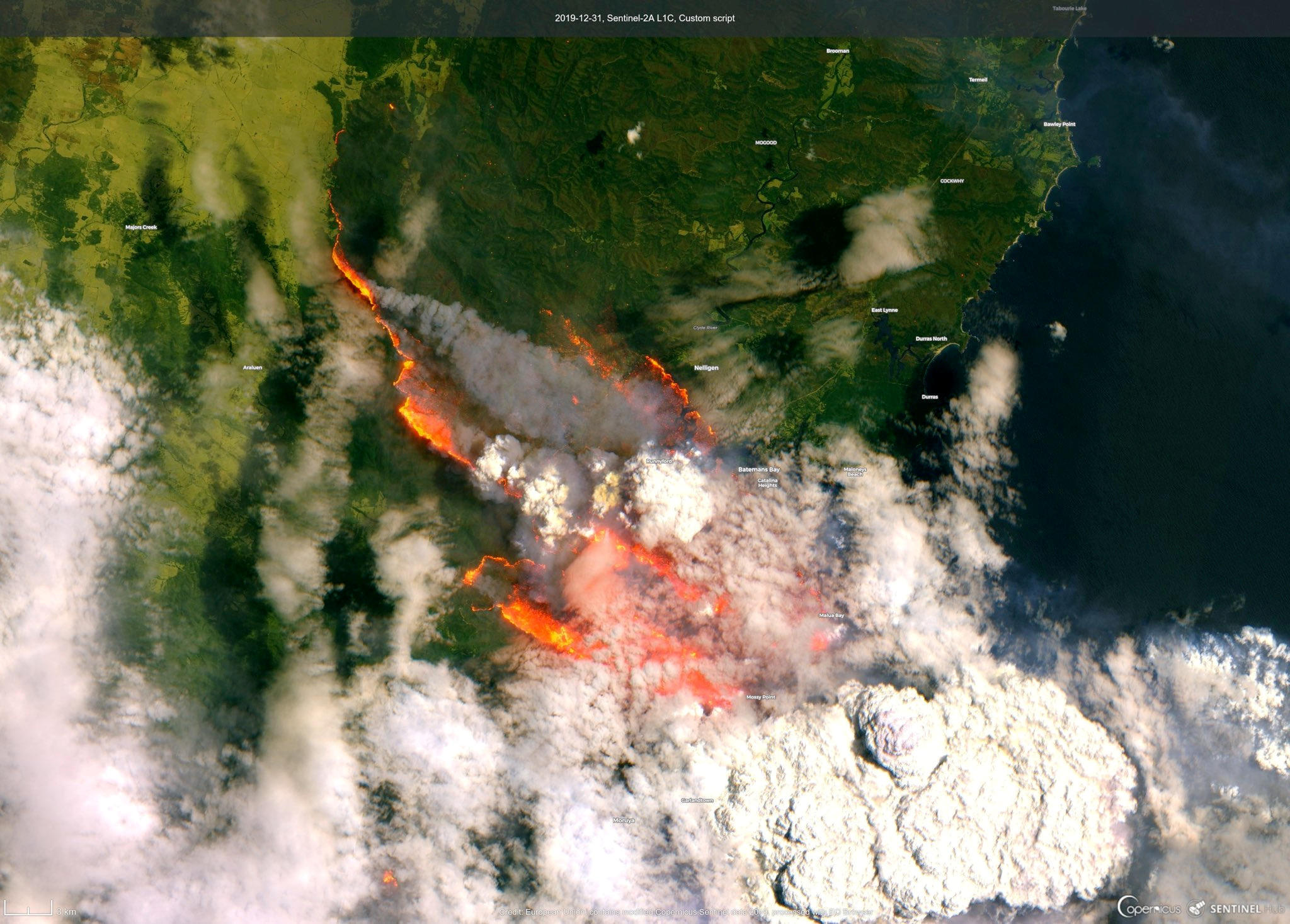 Australia Fires Pictures From The Deadly Wildfires Engulfing The