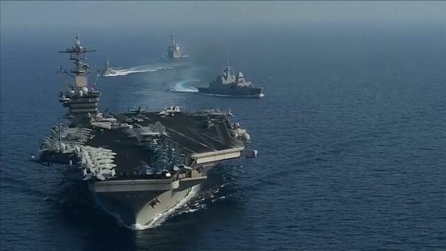 China says U.K. warship in Taiwan Strait shows