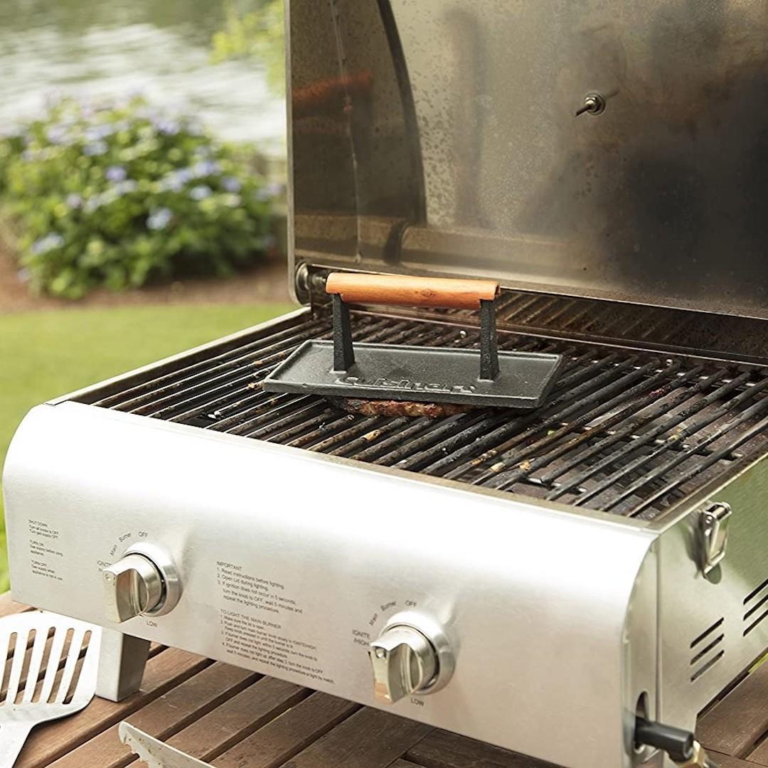 Cuisinart cast iron grill press