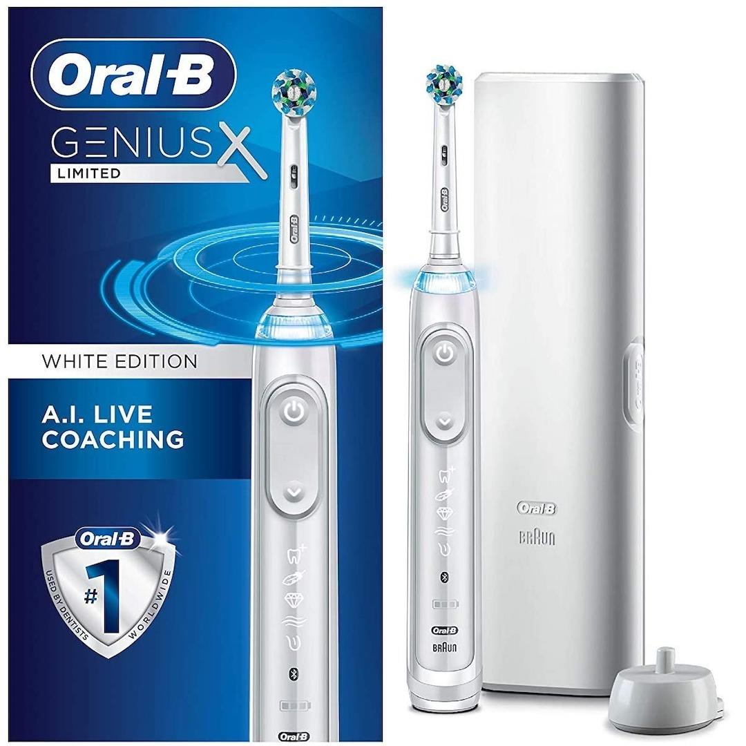 Oral-B Genius X Limited, Electric Toothbrush with Artificial Intelligence