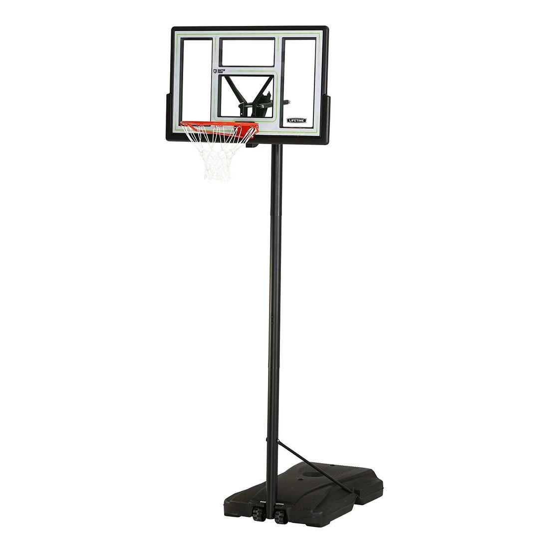 Lifetime 46in Adjustable Portable Basketball Hoop