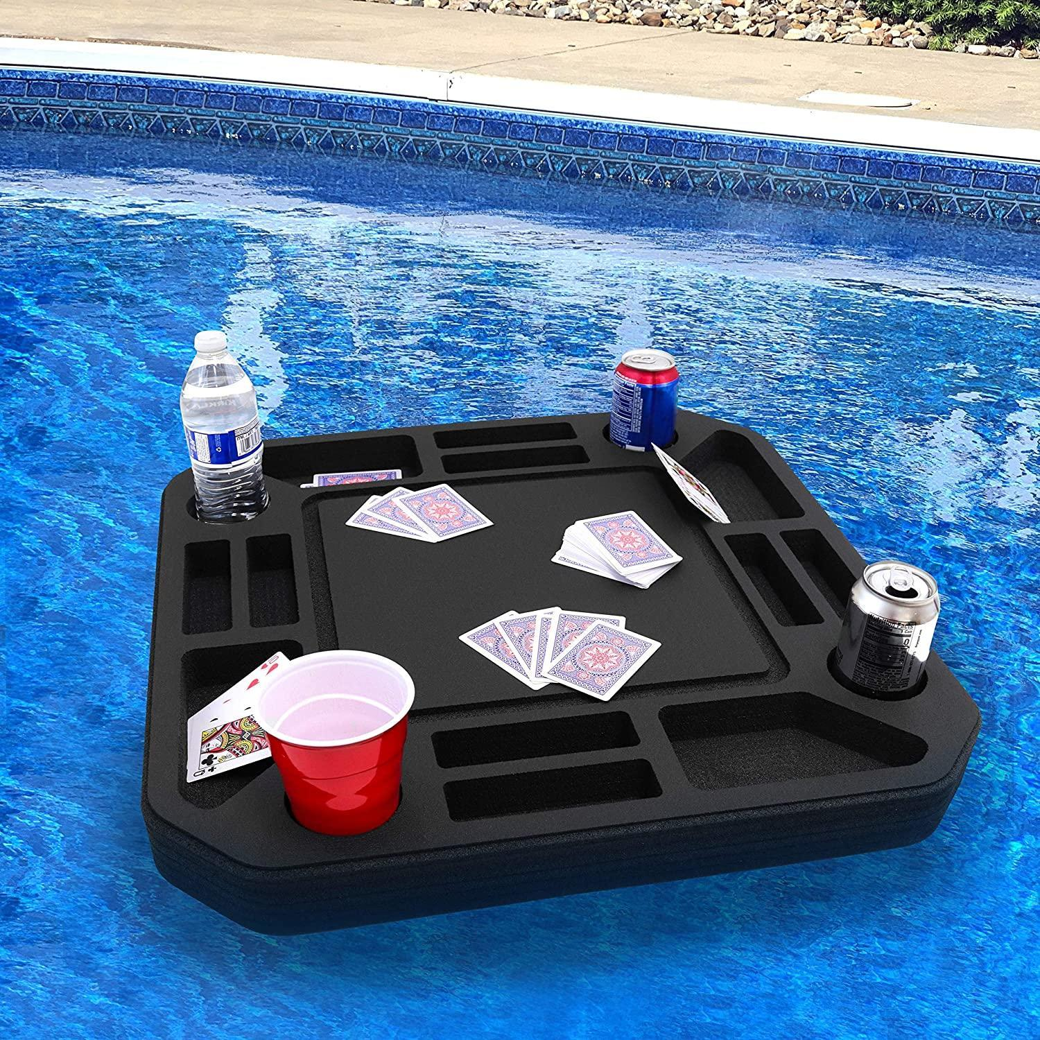 floating card table