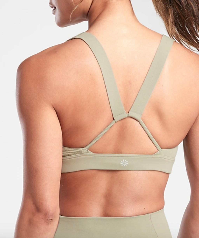 Exhale sports bra from Athleta