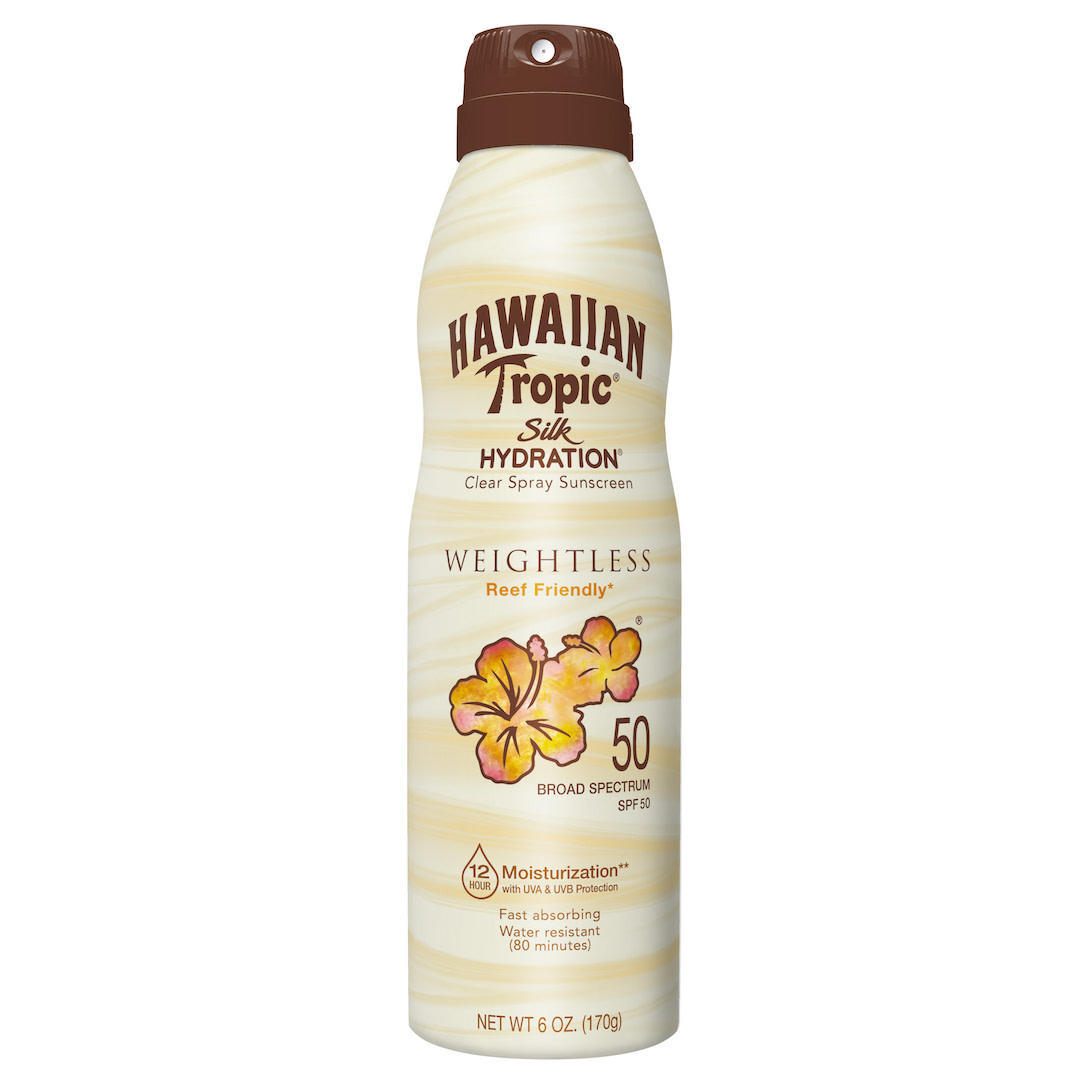 Hawaiian Tropic Silk Hydration weightless sunscreen spray