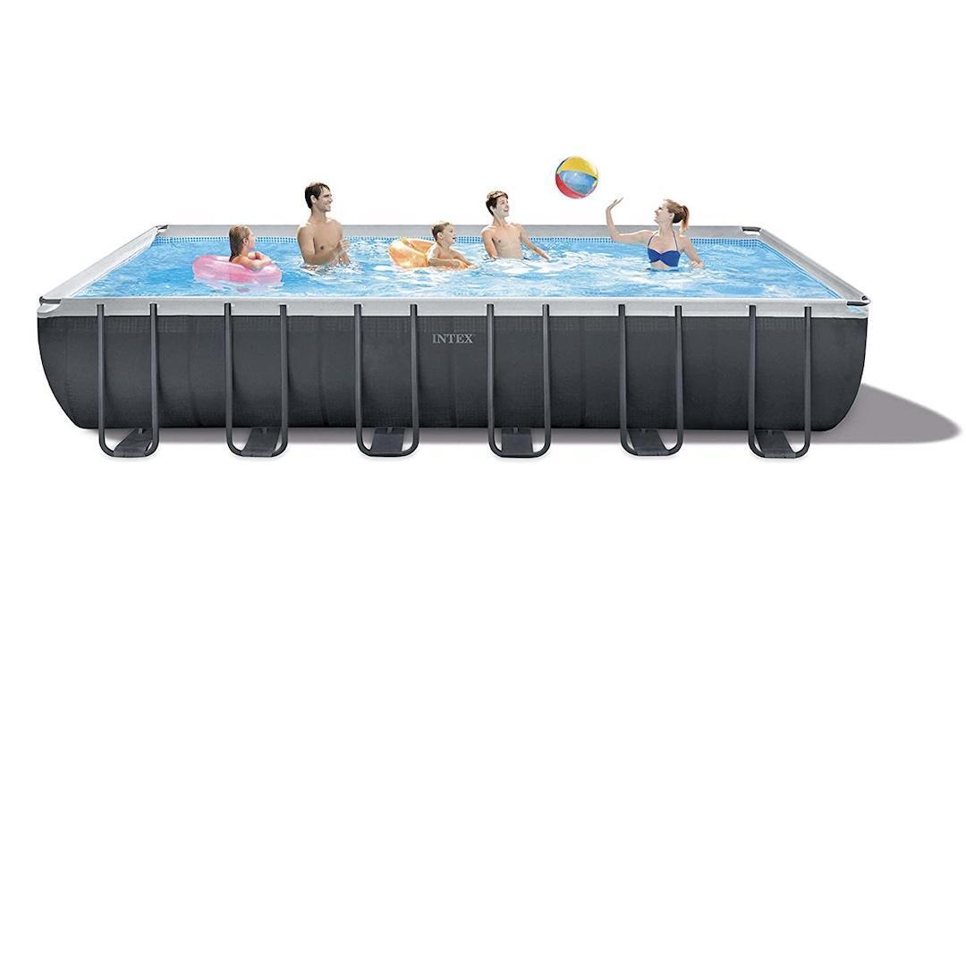 Intex ultra XTR set above ground pool