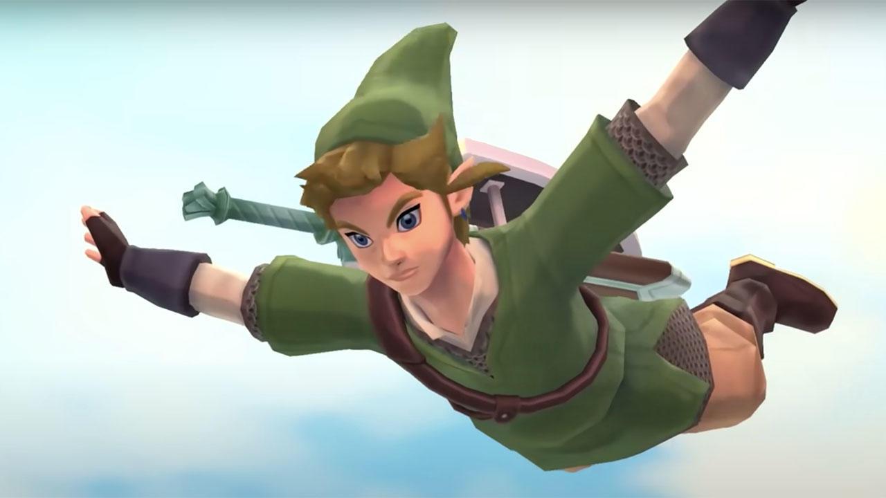 Link from The Legend of Zelda: Skyward Sword HD (screenshot)