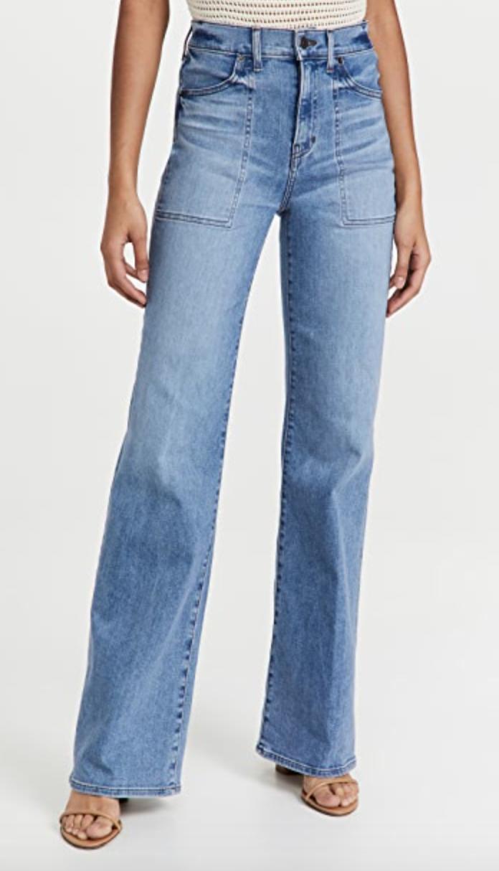 Crosbie Veronica Beard wide-leg jean