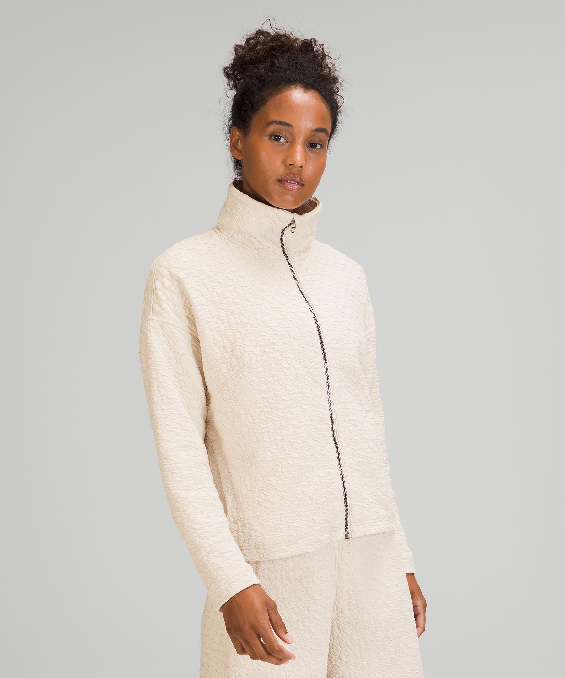 Lululemon Rippled Full Zip jacket