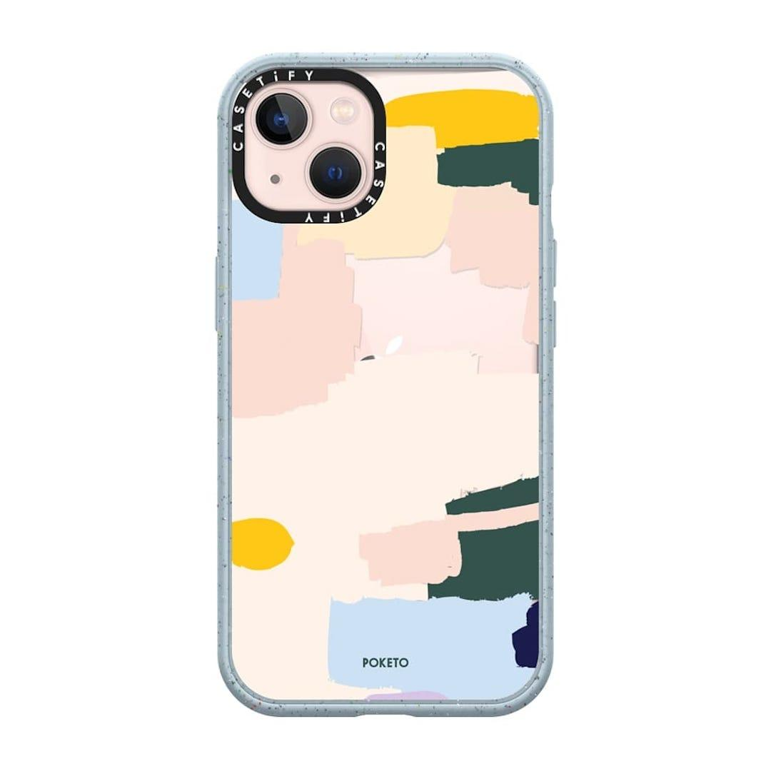 Casetify PAINT BY POKETO iphone 13 case