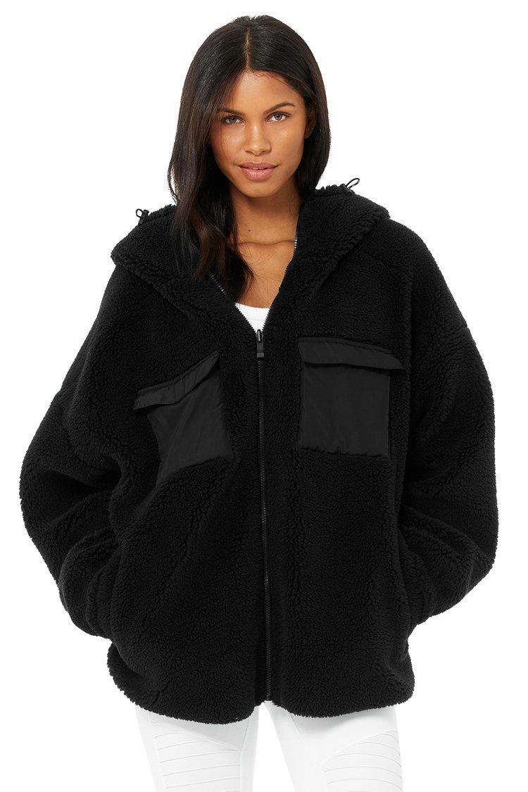 Alo Yoga Cargo Sherpa jacket