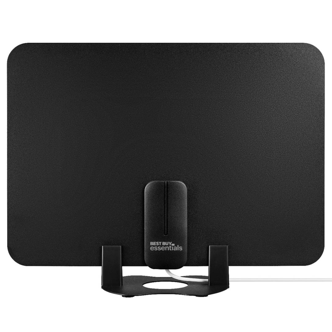 Best Buy essentials Amplified Ultra-Thin Film Indoor HDTV Antenna