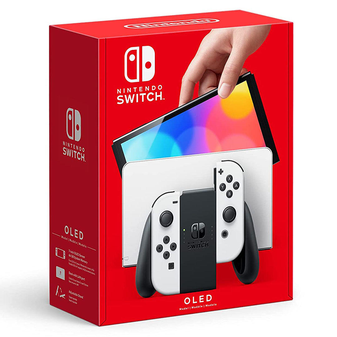 What you need to know about the new Nintendo Switch OLED Model console