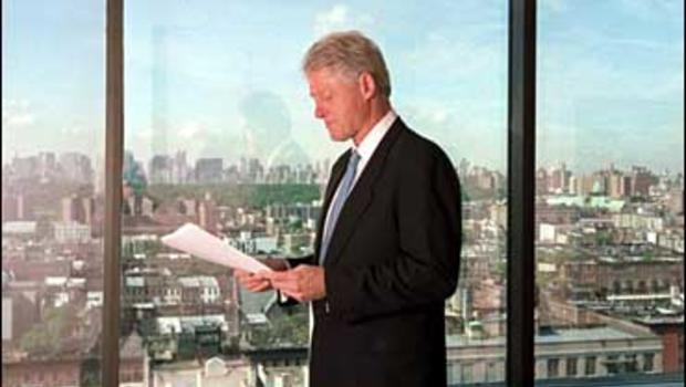 Bill clinton to visit north korea cbs news - Bill clinton years in office ...