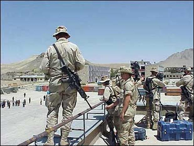 Randall Pinkston's Afghanistan Diary Part I
