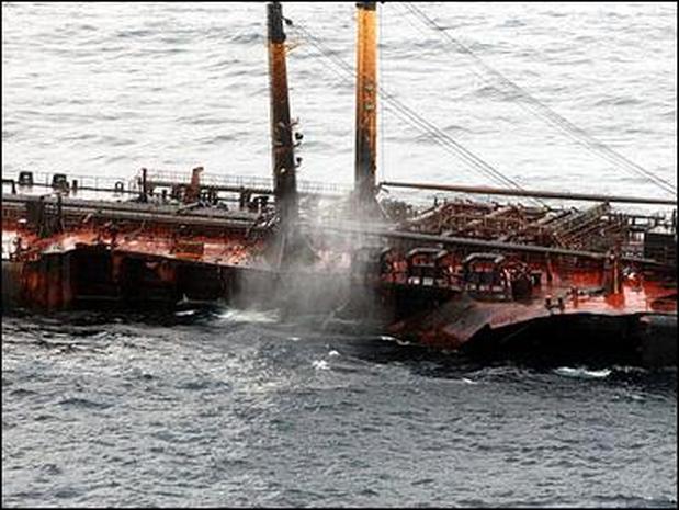 Spain Oil Tanker
