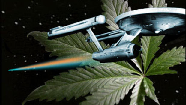 Image result for star trek cannabis marijuana