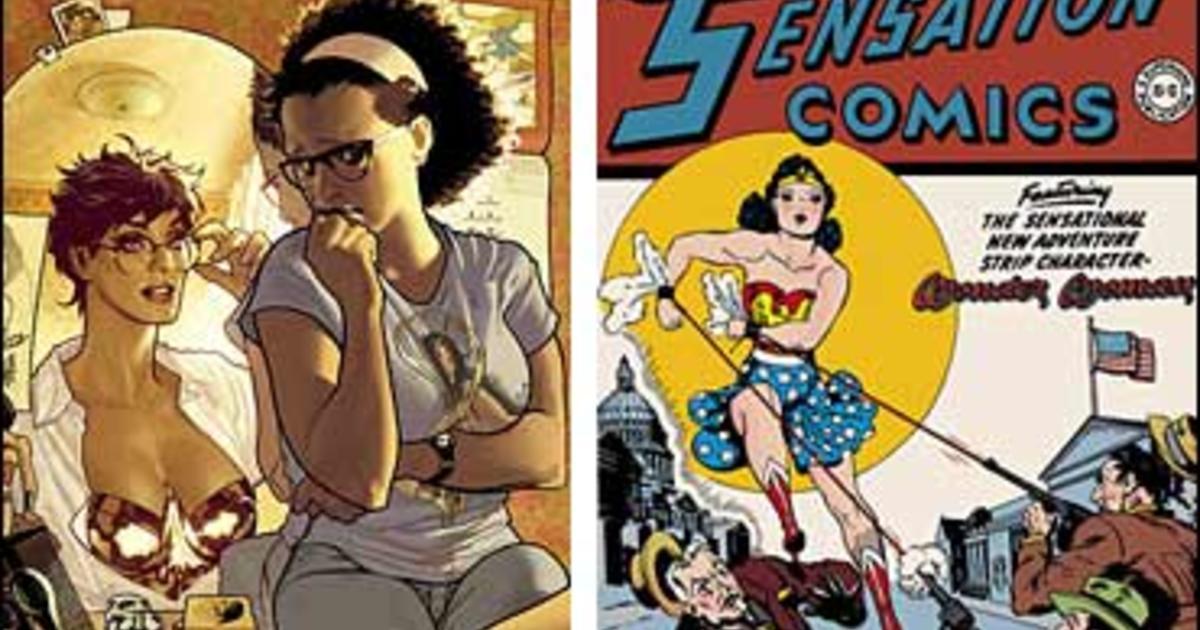 Wonder Woman Gets Edgy Makeover Cbs News