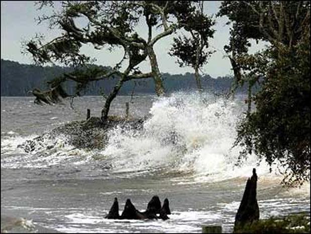 Storm-Tossed Seas