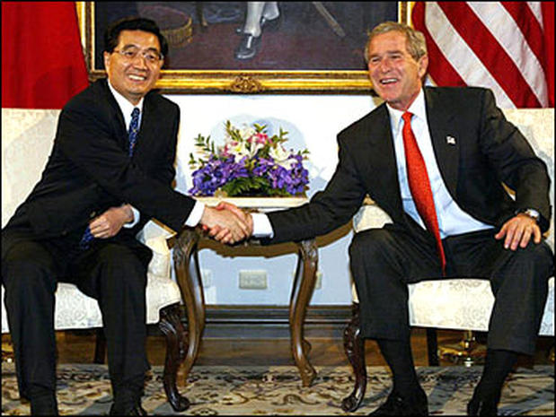 President Bush's  Asia Trip