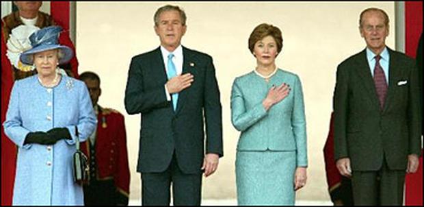 Bush In England